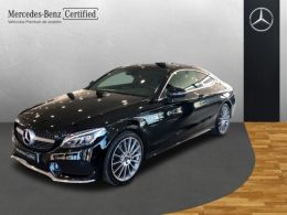 Mercedes Benz Clase C C Coupé 220 d AMG Line segunda mano Málaga